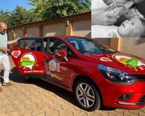 Save Alexa! Asociația Ensar Duman lansează o super tombolă pentru salvarea unei fetițe de 11 luni diagnosticată cu o boală gravă